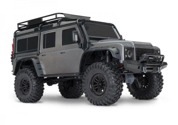 Traxxas TRX82056-4 TRX-4 LR Defender 4x4 silber RTR 1/10 4WD