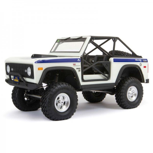 SCX10 III Early Ford Bronco 4WD RTR, White