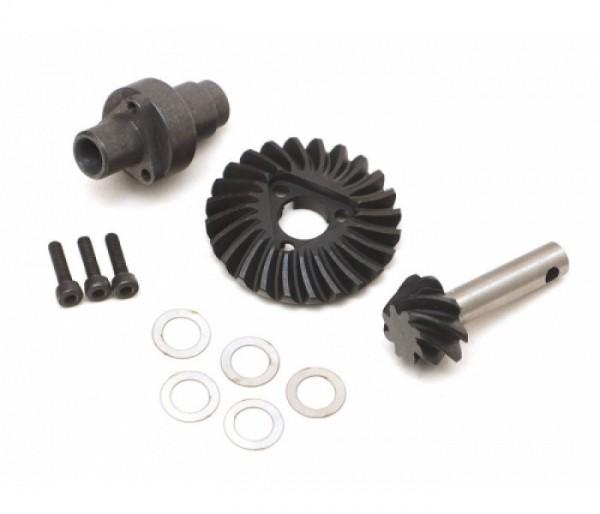 Boom Racing Overdrive-Getriebe 24/8T für AR44, BRX70 und BRX90 Achsen und Diff Sperre