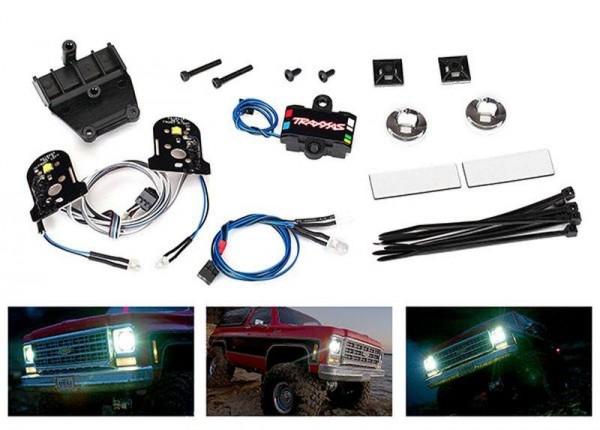 Lichter-Set Chevy Blazer ohne Power Supply für 8130 TRAXXAS