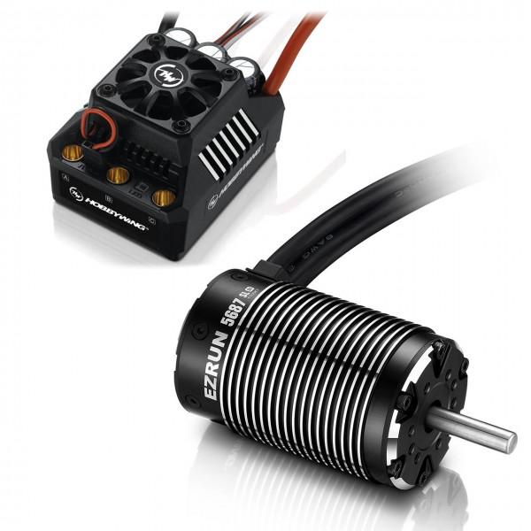 Hobbywing MAX6 Combo SL 5687 1100KV Ezrun