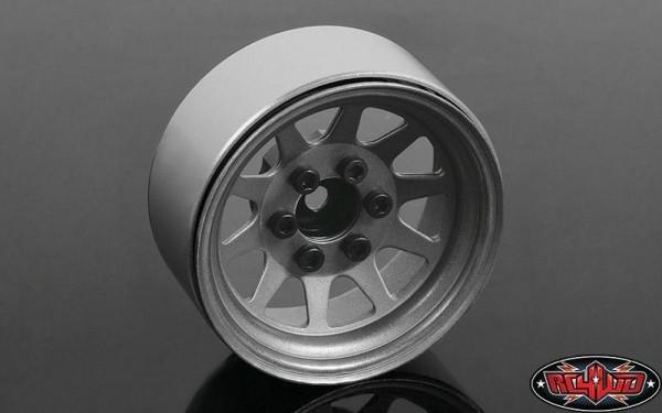 OEM Stamped Steel 1.9 Beadlock Wheels (Plain) RC4WD (4)