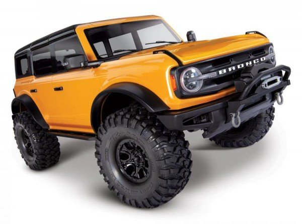 Traxxas TRX92076-4ORNG TRX-4 2021 Ford Bronco orange RTR 1/10 4WD Scale Crawler Brushed