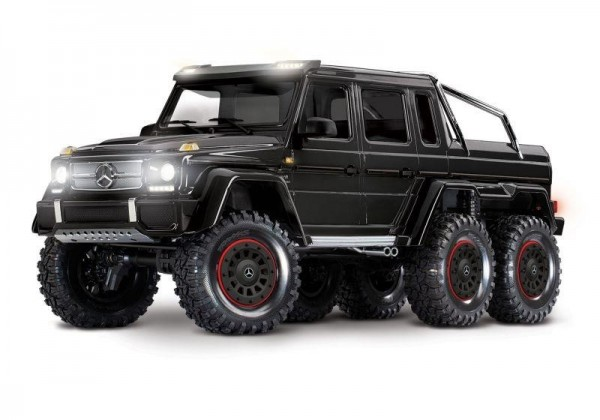 Traxxas TRX88096-4 Mercedes-Benz G63 AMG 6x6 RTR 1/10 6WD, schwarz