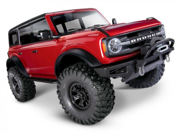 Traxxas TRX92076-4RED TRX-4 2021 Ford Bronco rot RTR 1/10 4WD Scale Crawler Brushed