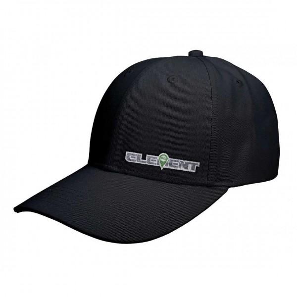 Element RC Hat, curved bill, black