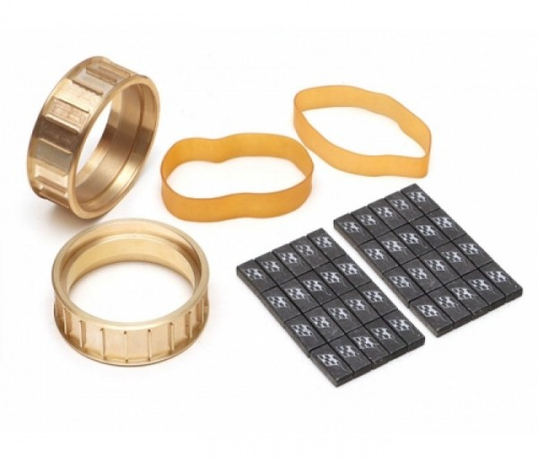 """Boom Racing ProBuild™ 1.9"""" Brass Center Ring w/ Lead Weight Set (2)"""