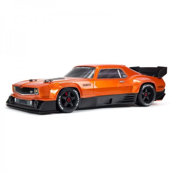 FELONY 6S BLX Street Bash 1/7 All-Road Muscle Car RTR, Orange