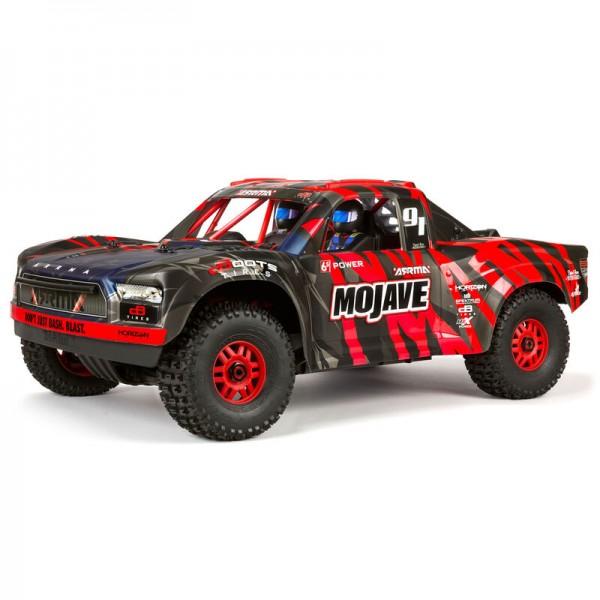 MOJAVE 6S V2 4WD BLX 1/7 Desert Truck RTR, Rot/Schwarz