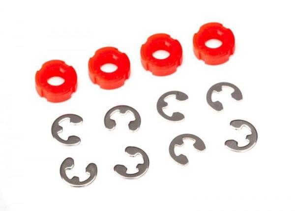 Traxxas TRX8261 Dämpfer-Kolben rot (4)