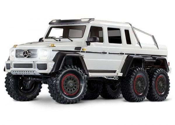 Traxxas TRX88096-4 Mercedes-Benz G63 AMG 6x6 RTR 1/10 6WD, weiß