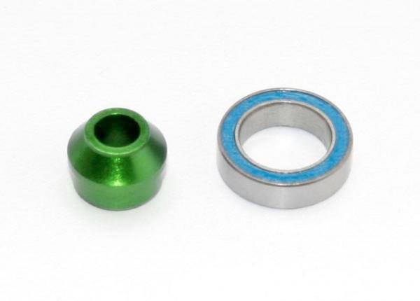 Lager-Adapter Alu grün
