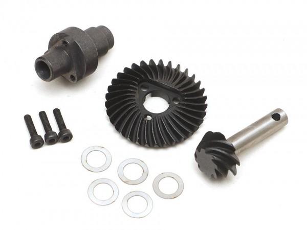 Boom Racing Underdrive-Getriebe 33/8T für AR44, AR45, BRX70 und BRX90 Achsen und Diff Sperre