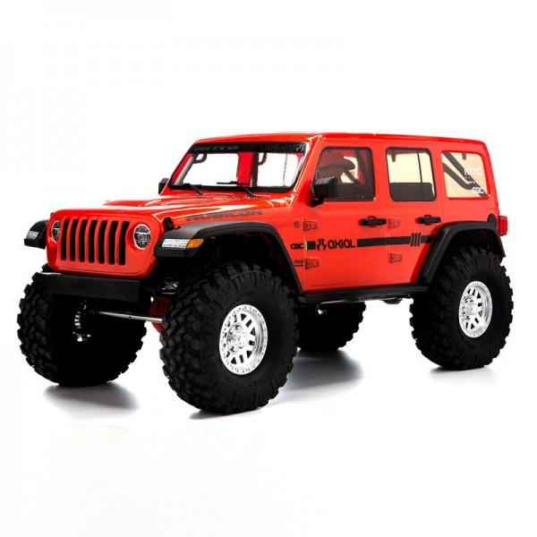 SCX10 III Jeep JLU Wrangler 1/10 RTR Rot