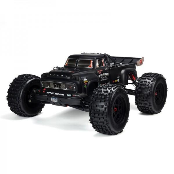 NOTORIOUS 6S 4WD BLX 1/8 Stunt Truck RTR, Schwarz