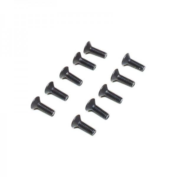 M2.5 x 8mm Flat Head Screw (10)