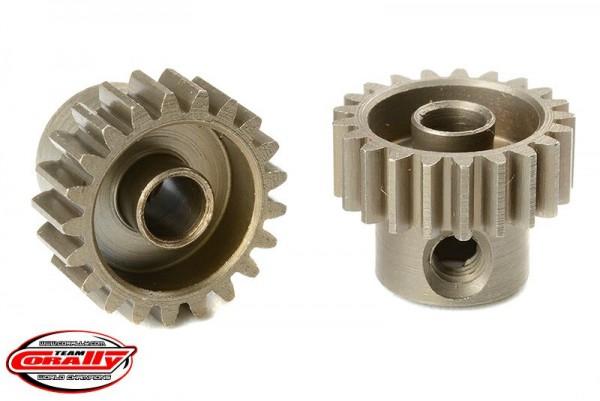 Team Corally - 48 DP Motorritzel - Stahl gehärtet - 21 Zähne - Welle 3.17mm