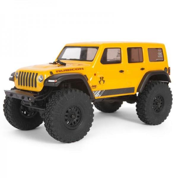 SCX24 2019 Jeep Wrangler JLU CRC 1/24 4WD-RTR YEL