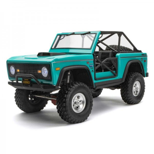 SCX10 III Early Ford Bronco 4WD RTR, Turquoise Blue