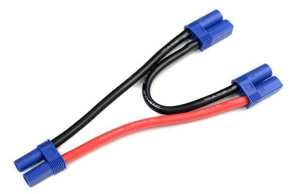 Revtec GF-1321-161 Power V-Kabel Parallel EC-5 10AWG Silikon Kabel 12cm
