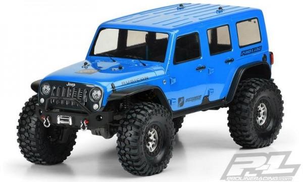 Pro-Line Jeep Wrangler Unlimited Rubicon Karo (klar) für z.B. TRX-4 - 325mm Radstand