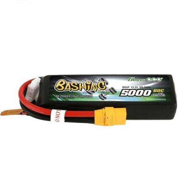 GENS ACE 3S 11.1V 5000mAh 60C XT90 Bashing Lipo