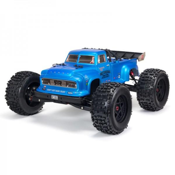 NOTORIOUS 6S 4WD BLX 1/8 Stunt Truck RTR, Blau