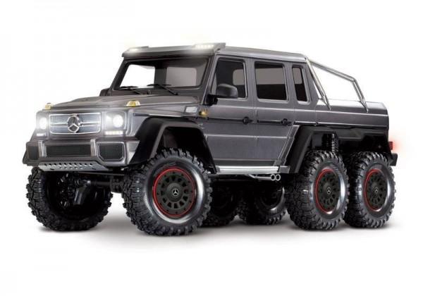 Traxxas TRX88096-4 Mercedes-Benz G63 AMG 6x6 RTR 1/10 6WD, silber