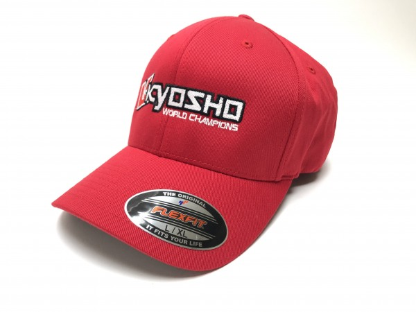 KYOSHO FLEXFIT CAP L/XL - ROT