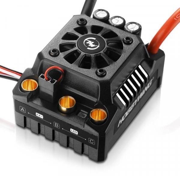 Hobbywing Ezrun MAX8 T Regler Sensorless 150 Amp, 3-6s LiPo, BEC 6A