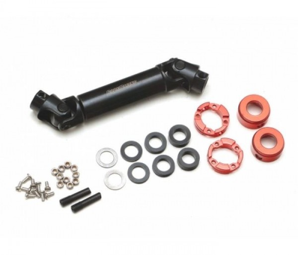 Boom Racing BADASS™ Heavy Duty Center Drive Shaft 65-85mm (Pin to Pin) 1Pc