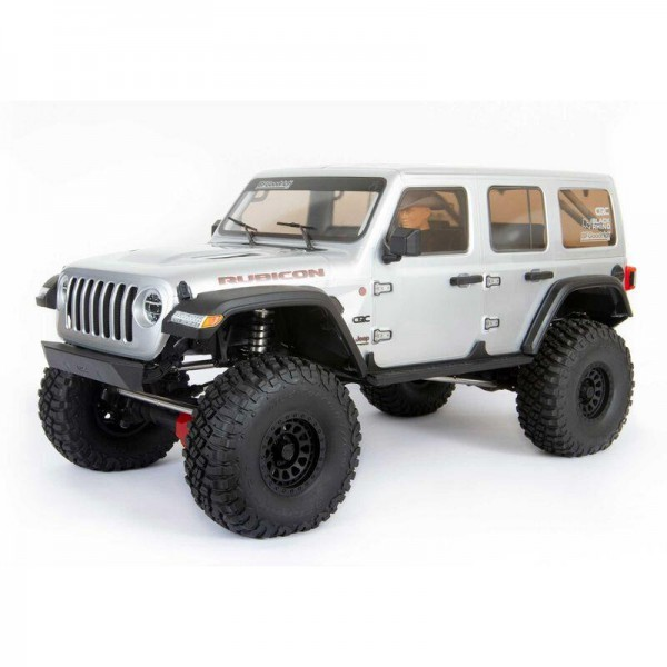 Axial AXI05000T2 SCX6 1/6 RTR Jeep JLU Wrangler 4WD Rock Crawler silver