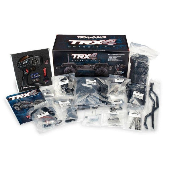 Traxxas TRX82016-4 TRX-4 Chassis Kit inklusive Elektronik ohne Akku/Lader/Karo
