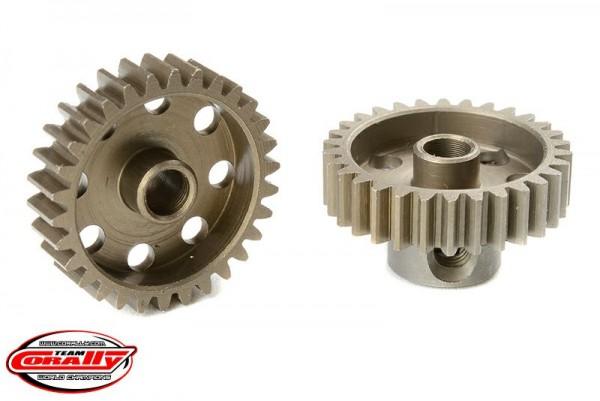 Team Corally - 48 DP Motorritzel - Stahl gehärtet - 30 Zähne - Welle 3.17mm