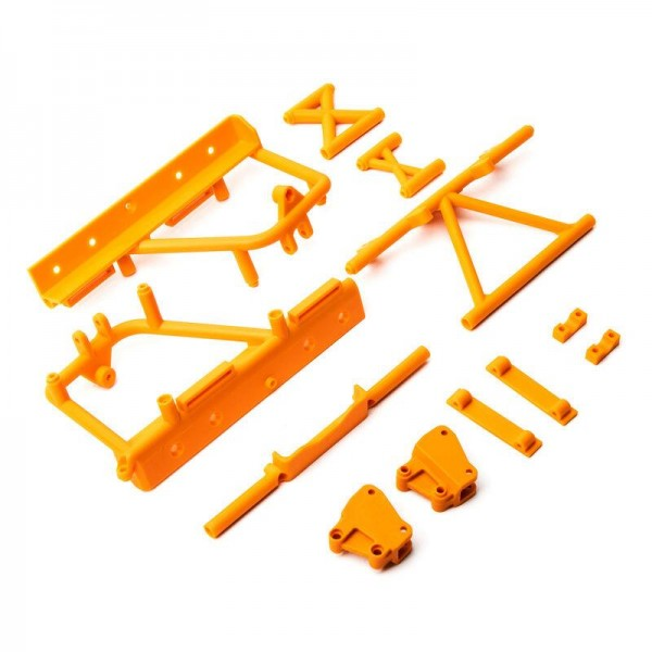 Cage Supports, Battery Tray (Orange): RBX10 RYFT