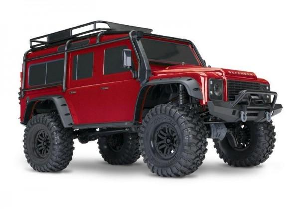 Traxxas TRX82056-4 TRX-4 LR Defender 4x4 rot RTR 1/10 4WD
