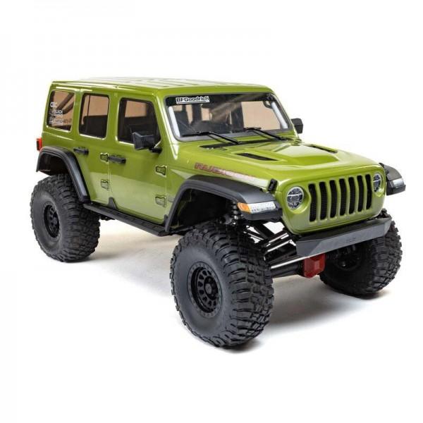 Axial AXI05000T1 SCX6 1/6 RTR Jeep JLU Wrangler 4WD Rock Crawler green