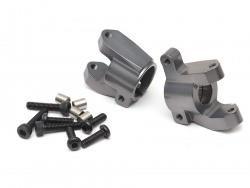Team Raffee Co. Aluminum Front C-hub (2) Gun Metal for Element RC Enduro