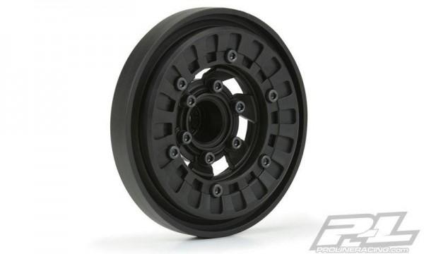 Pro-Line Vice CrushLock felgen schwarz/schwarz v/h (2) für 2.6 Mud Tires mit 6x30 Removable Hex