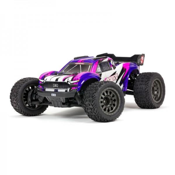 VORTEKS 4X4 3S BLX Stadium Truck RTR, Purple