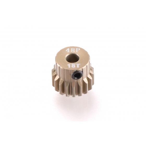 RUDDOG 18T 48dp Aluminium Pinion
