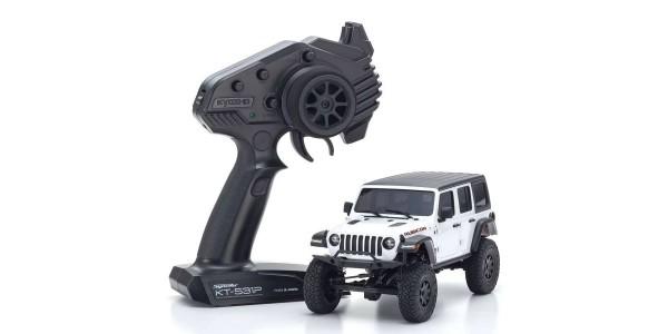Mini-Z 4X4 MX-01 Jeep Wrangler Rubicon Bright White