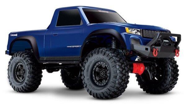 Traxxas TRX82024-4BLUE TRX-4 Sport 4x4 blau RTR 1/10 4WD