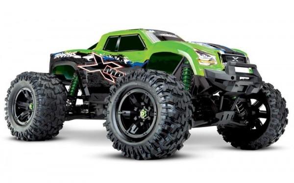 Traxxas TRX77086-4 X-Maxx 8S 4x4 VXL Grünx RTR ohne Akku/Lader 4WD