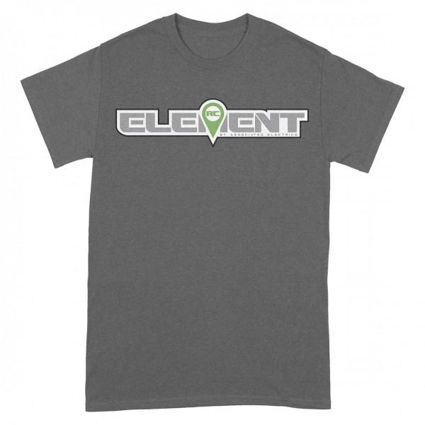 Element RC Logo T-Shirt, gray, 2XL