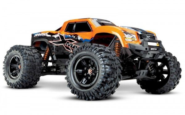 Traxxas TRX77086-4 X-Maxx 8S 4x4 VXL OrangeX RTR ohne Akku/Lader 4WD