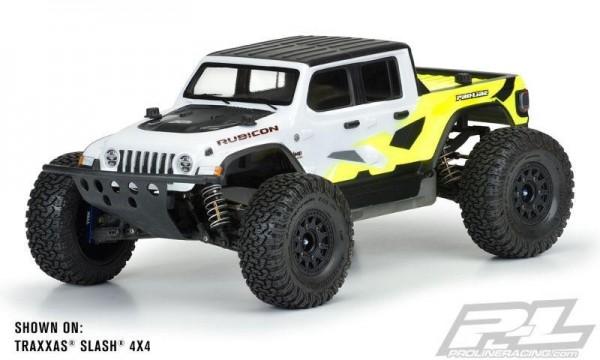 Pro-Line Jeep Gladiator Rubicon Karo klar TRX Slash 2WD&4x4, ARRMA Senton 3S, E-Revo 2.0