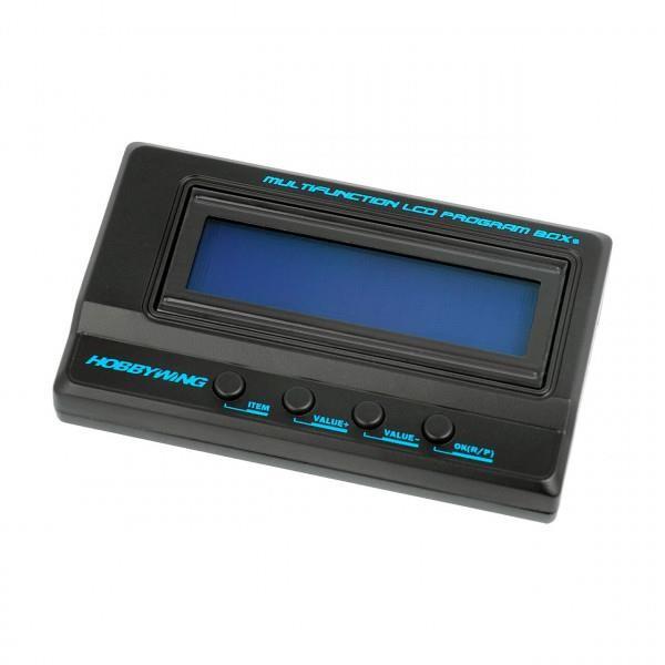 Hobbywing LCD Programmierbox G2 für Xerun, Ezrun und Platinum