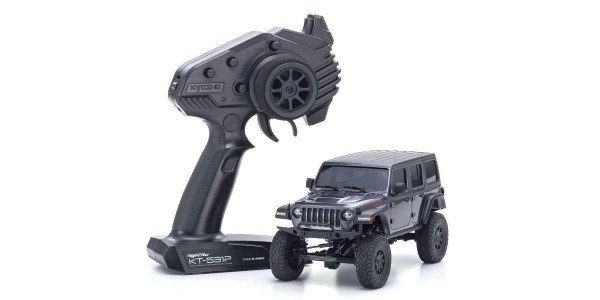 Mini-Z 4X4 MX-01 Jeep Wrangler Rubicon Granite Metallic