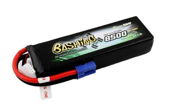 GENS ACE 3S 11.1V 8500mAh 50/100C EC5 Bashing Lipo